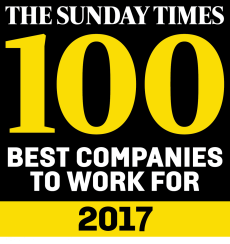 The Sunday Times best companies to work for 2017